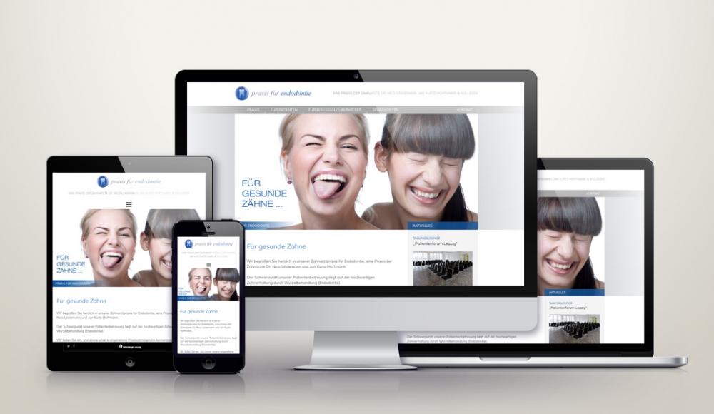Responsive Wordpress Webdesign für endo-leipzig.de
