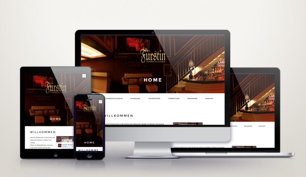 Responsive Wordpress Relaunch für fuerstin-leipzig.de