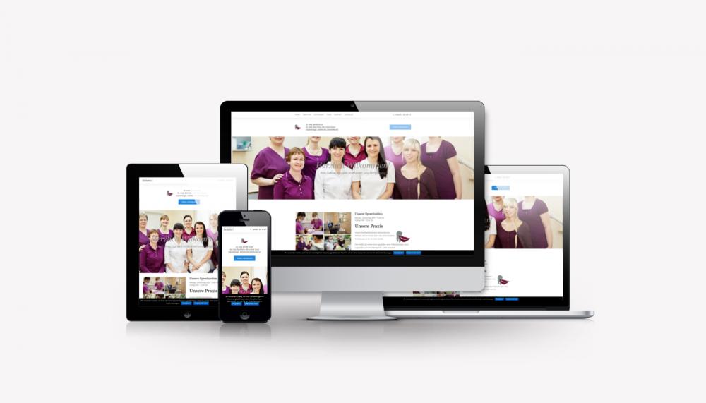 Responsive Wordpress Relaunch für dr-benita-kunze.de
