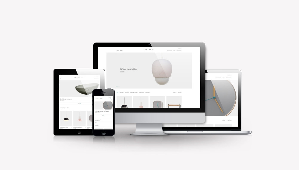 satamo.de   Online Store für Möbel und Accessoires   Webdesign